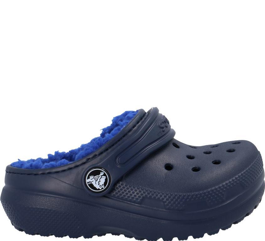 Im Preisvergleich: marineblauer Crocs Clog mit Warmfutter