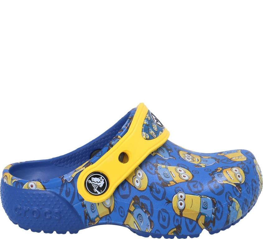 Im Preisvergleich: komfortabler Minions Crocs™ Clog in Blau