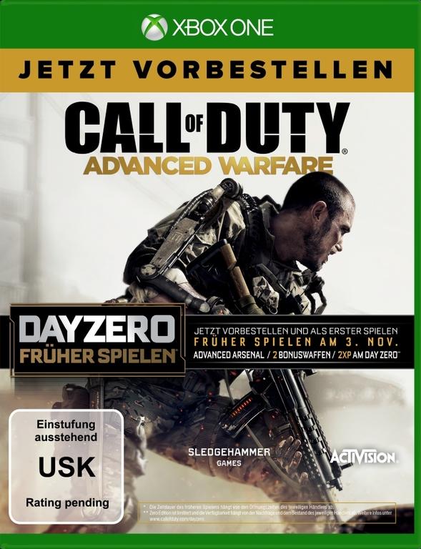 Im Preisvergleich: Call Of Duty: Advanced Warfare - (Day Zero Edition)