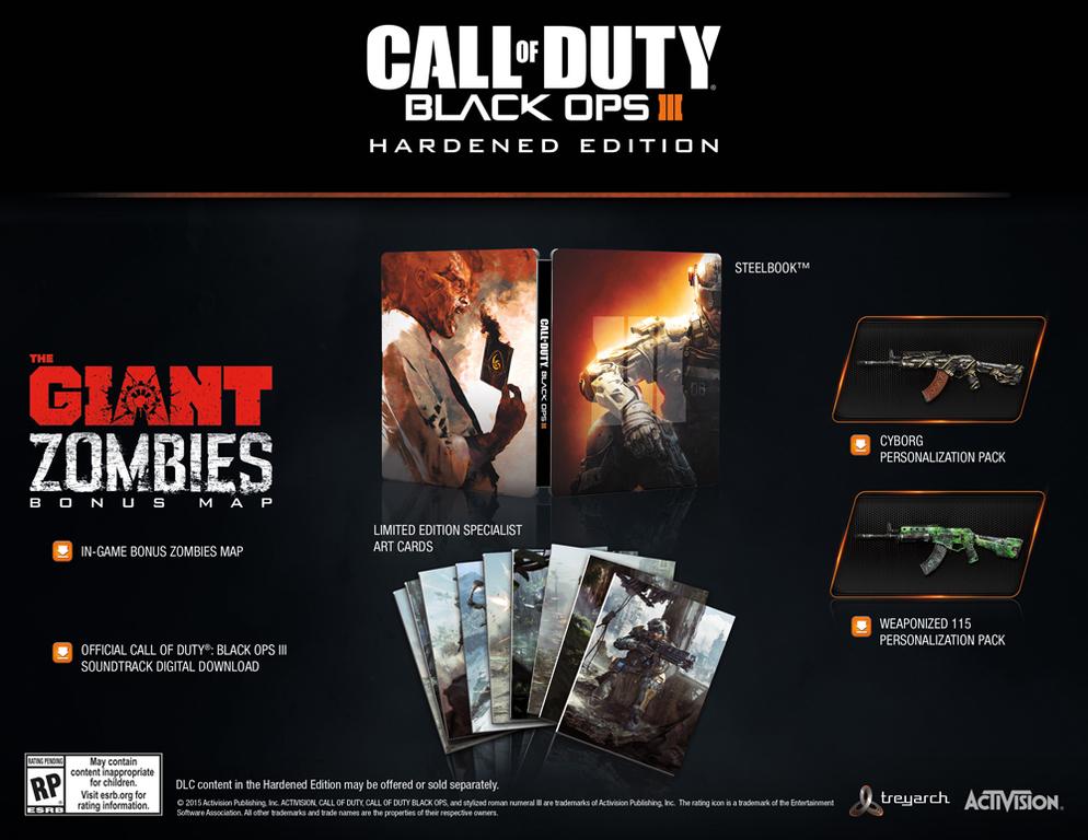 Im Preisvergleich: Call of Duty: Black Ops III (Hardened Edition)