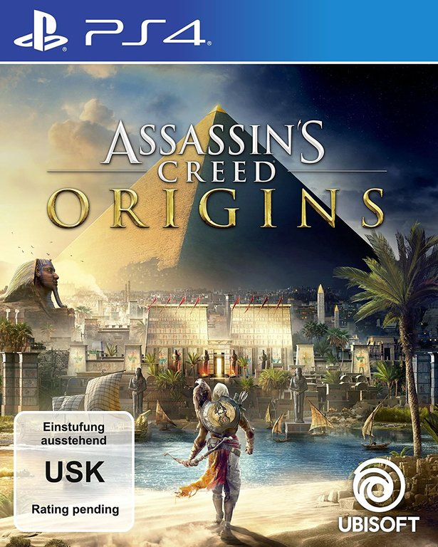 Im Preisvergleich: Assassins Creed Origins - (German Edition)