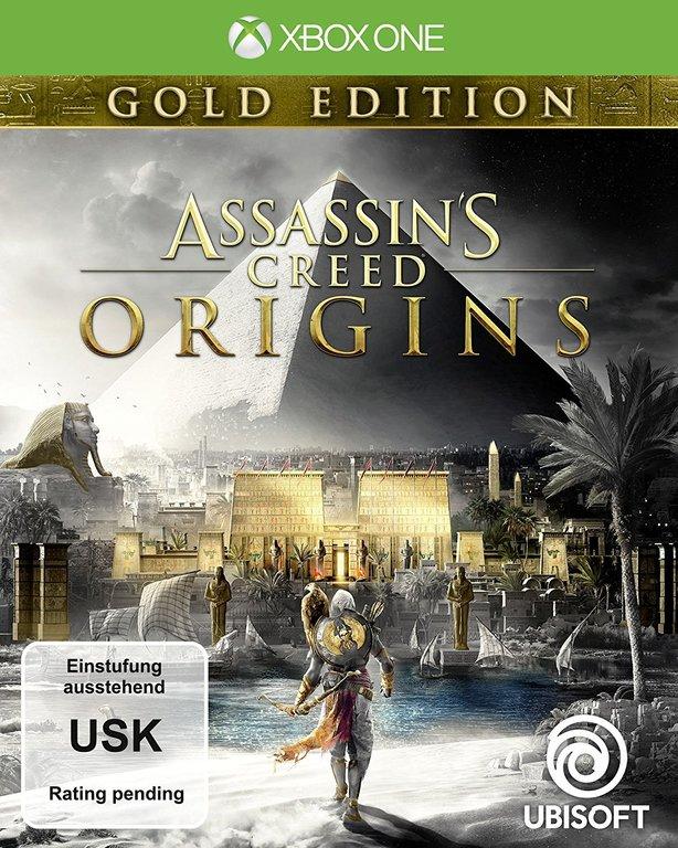 Im Preisvergleich: Assassins Creed Origins - (German Gold Edition)