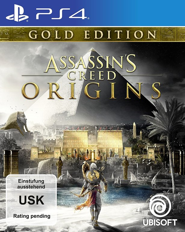 Im Preisvergleich: Assassins Creed Origins - (German Gold Edition)