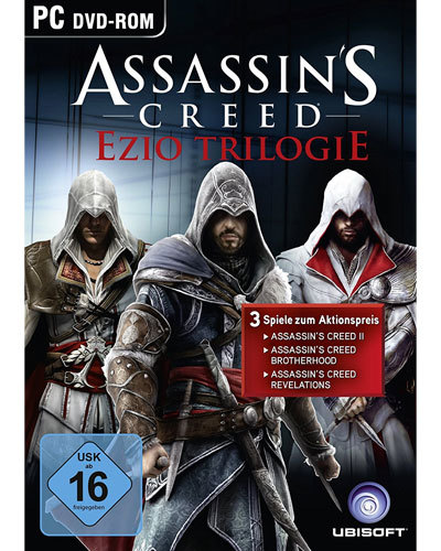 Im Preisvergleich: Assassins Creed Ezio Trilogie