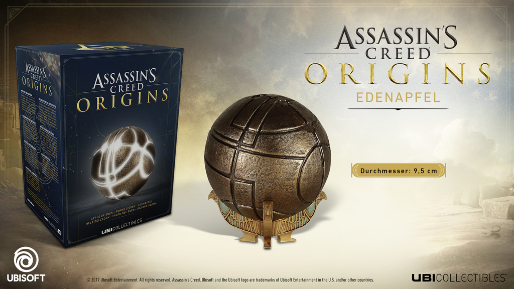 Assassins Creed Origins - Apple of Eden Replica