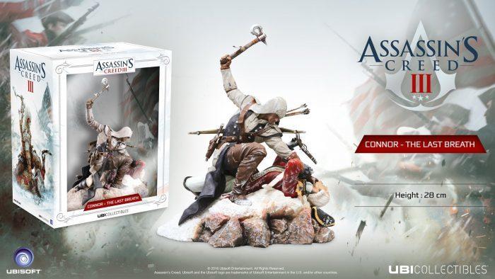 Im Preisvergleich: Assassins Creed Figur - Connor Last Breath