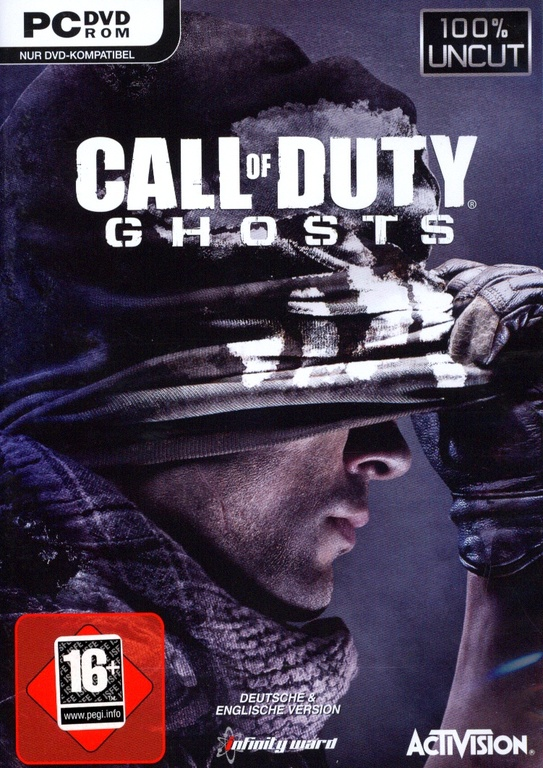 Im Preisvergleich: Pyramide: Call of Duty - Ghosts