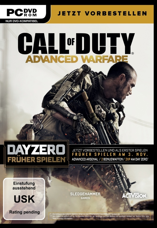Im Preisvergleich: Call Of Duty: Advanced Warfare - (Day Zero Edition)