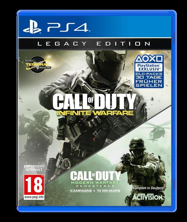Im Preisvergleich: Call of Duty: Infinite Warfare - (Legacy Edition)