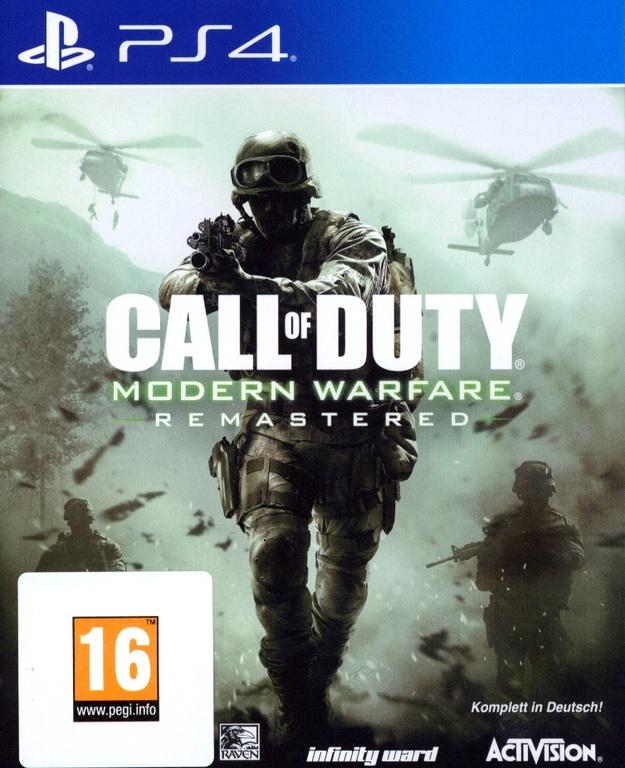 Im Preisvergleich: Call of Duty 4: Modern Warfare (Remastered) - (German Edition)