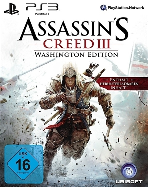 Im Preisvergleich: Assassin´s Creed 3 - (Washington Edition)