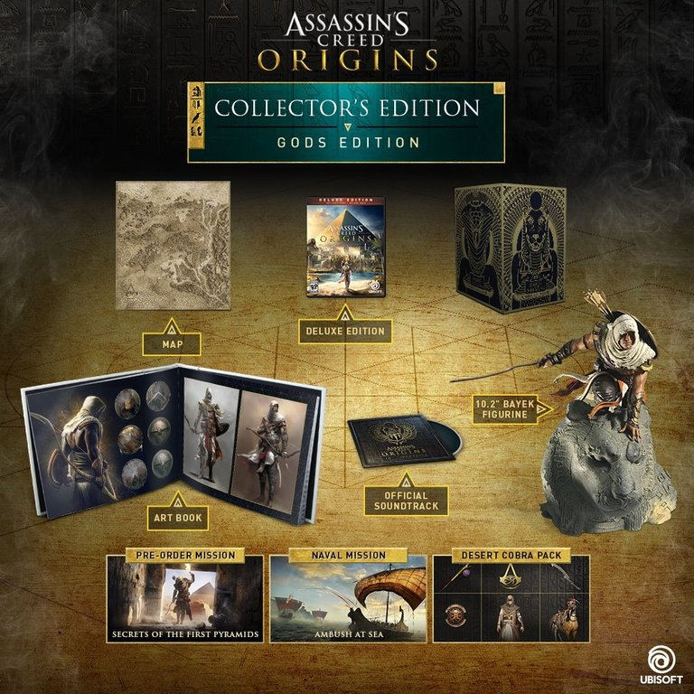 Im Preisvergleich: Assassins Creed Origins - (Collector