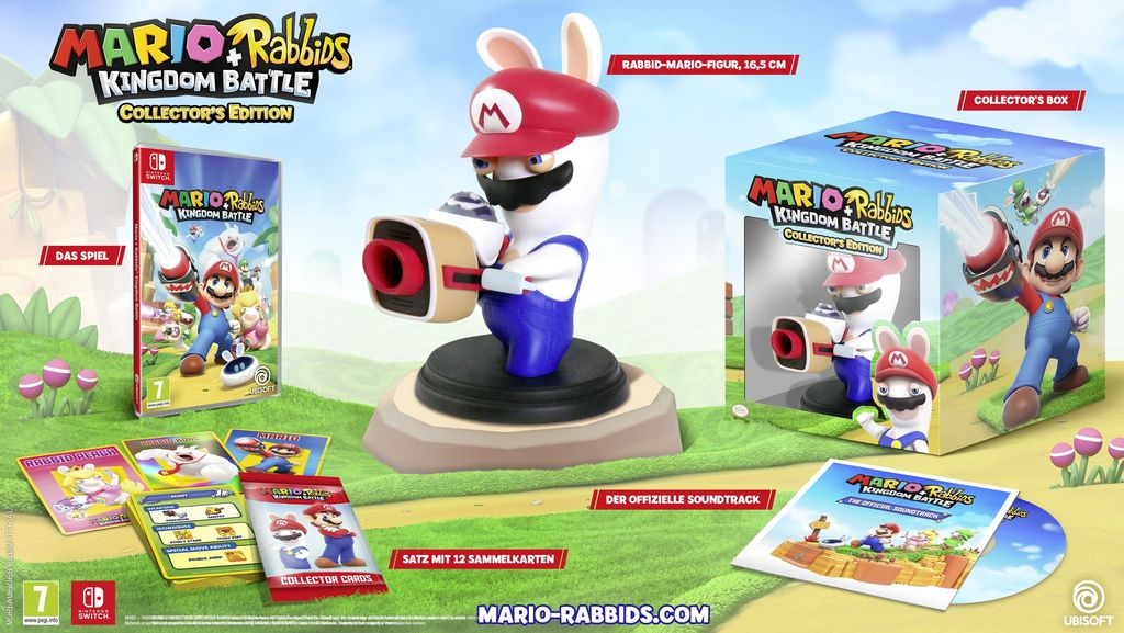 Im Preisvergleich: Mario & Rabbids: Kingdom Battle - (Collector