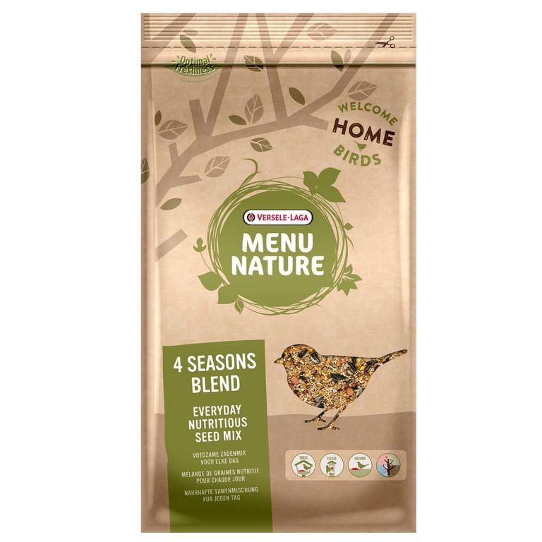 Versele-Laga Wildvogelfutter Nature 4 Jahreszeiten ist eine speziell zusammengestellte, ernährungsphysiologisch ausgewogene Mixtur von ausgesuchtem Getreide, Sämereien und Nüssen. Das Futter wurde auf das Vorhandensein von Ambrosia getestet. Das Wildvogelfutter ist für die Füt...