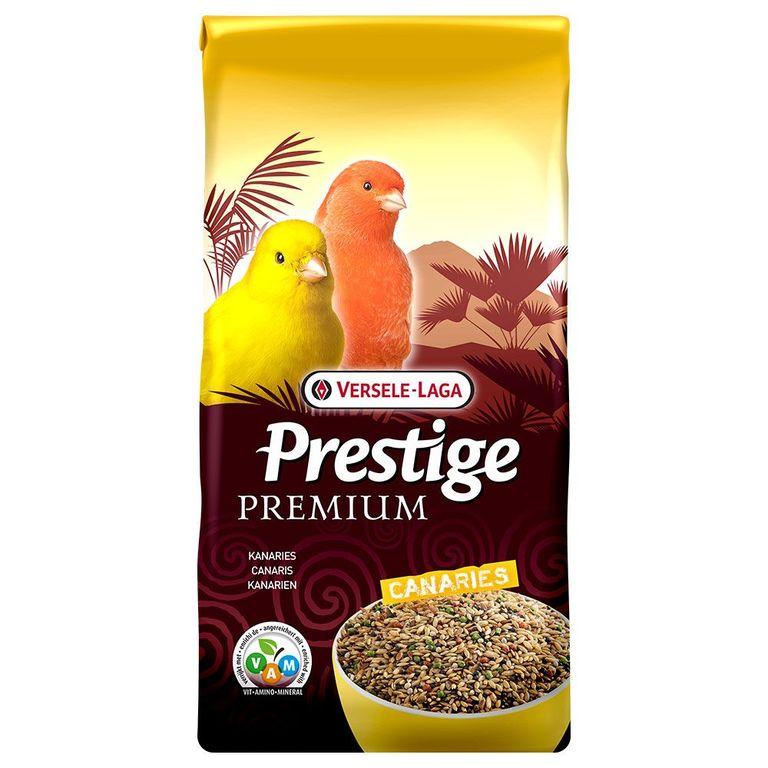 Die hochwertige Saatenmischung in Prestige Premium Vogelfutter für Kanarien sorgt für eine ausgewogene Ernährung mit allen lebenswichtigen Vitaminen. Dieses Futter ist die beste Voraussetzung für ein kräftiges Gefieder, prächtige, natürliche Farben und ein langes Vogel-Leben. ...