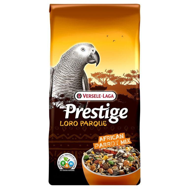 African Parrot Loro Parque Mix ist eine angereicherte Samenmischung mit extra Nahrungselementen, speziell zusammengesetzt für alle afrikanischen Papageien, wie Graupapageien, Kongo-Papageien und Rotbauch-Papageien. Alle Prestige Premium Loro Parque Mischungen sind mit einem se...