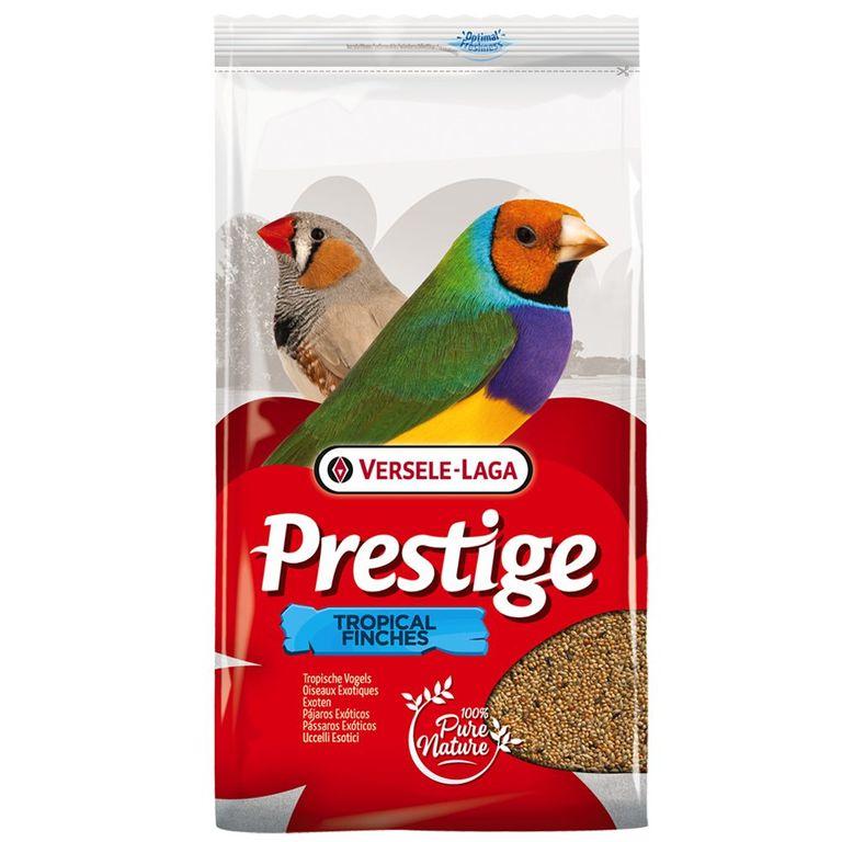 Versele-Lage Prestige Exoten bietet einen klassischen Futtermix speziell für tropische Finken. Die Zusammensetzung wurde auf deren spezielle Ernährungsbedürfnisse in Zusammenarbeit mit Züchtern und Tierärzten abgestimmt und kann bei Ihren Schützlingen für eine optimale Konditi...