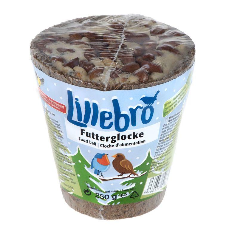 Die Lillebro Futterglocke ist nicht nur ein praktischer Futterspender aus Naturfasern, sondern überzeugt auch durch seine besonders leckere Füllung. Diese Premium Futterglocke ist eine einzigartige Köstlichkeit für Wildvögel und deswegen auch sehr beliebt. Sie wurde mit einer ...