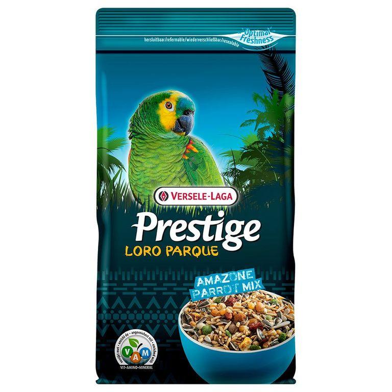 Prestige Premium Amazone Papagei Loro Parque Mix ist eine angereicherte Samenmischung mit extra Nahrungselementen, speziell zusammengesetzt für alle südamerikanischen Papageien, wie zum Beispiel Amazonen, Pionus, Caiques, kleine Aras und grosse Aratingas. Alle Prestige Premium...