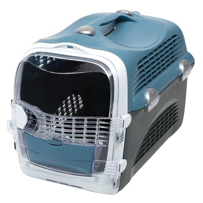 Ihre Katze ist ein wichtiger Bestandteil Ihrer Familie. Bieten Sie ihr deshalb mit dem Cabrio unter den Transportboxen eine Reisemöglichkeit mit Komfort und Stil! Sei es der Weg zum Tierarzt oder in die Tierpension: die Catit Cabrio Transportbox ist ideal zum Transport von Kat...